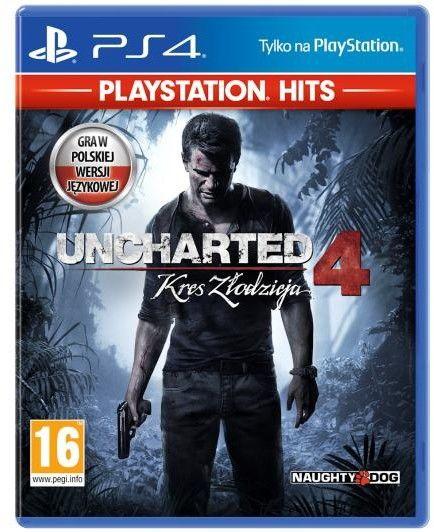 Uncharted 4: Kres złodzieja PL (PS4)