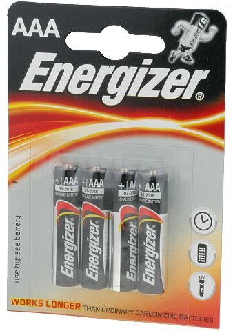 Bateria alkaliczna 1,5V Energizer Base R03 (AAA) 4szt.