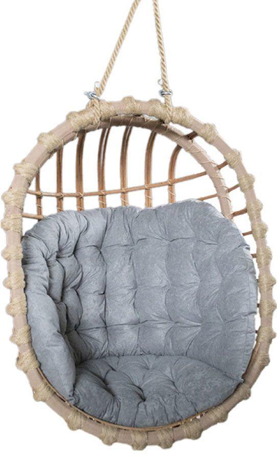Fotel wiszący z wikliny