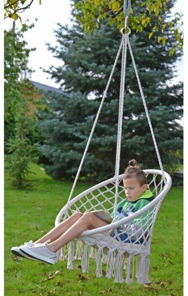 fotel wiszacy dla dzieci
