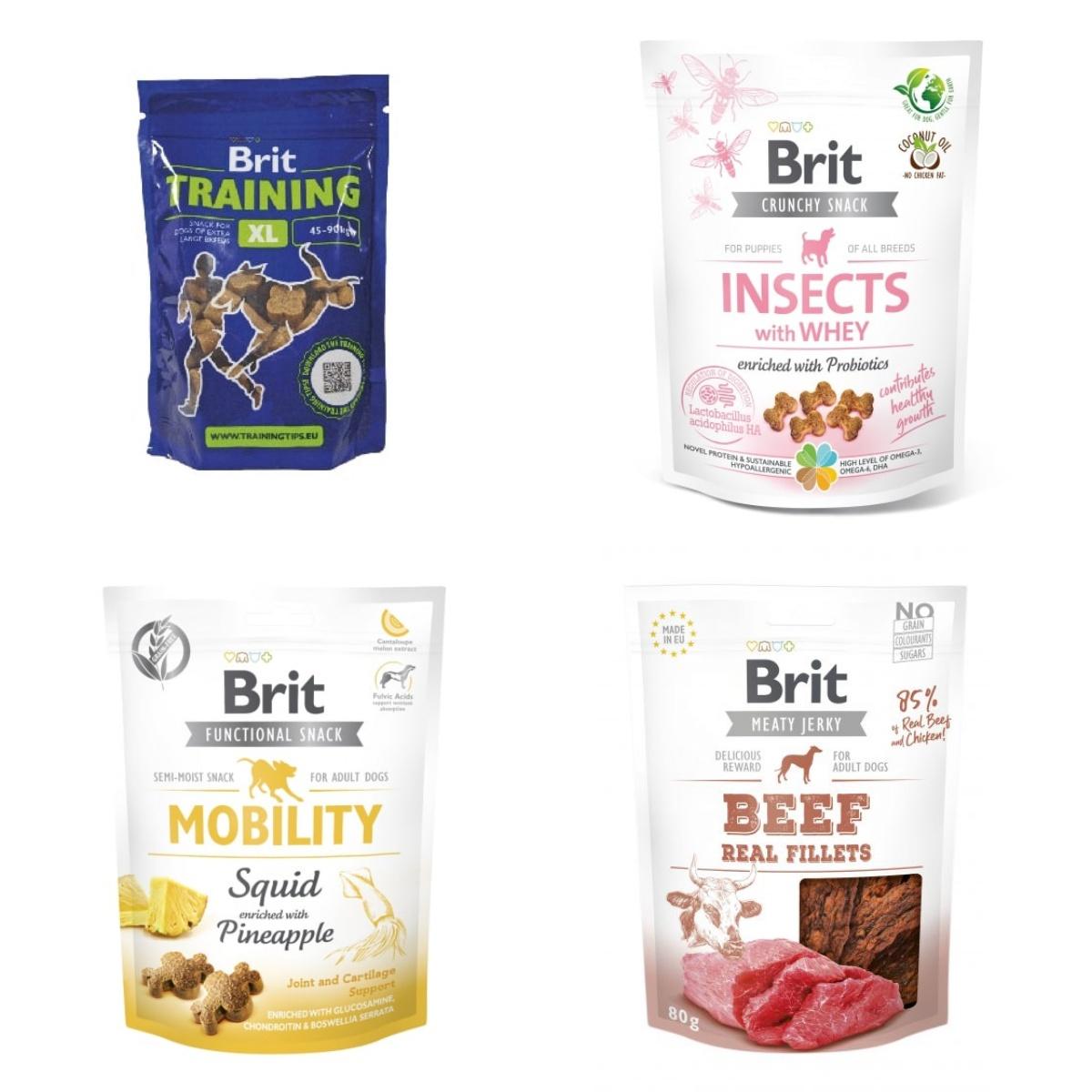 Serie przysmaków dla psów od firmy Brit