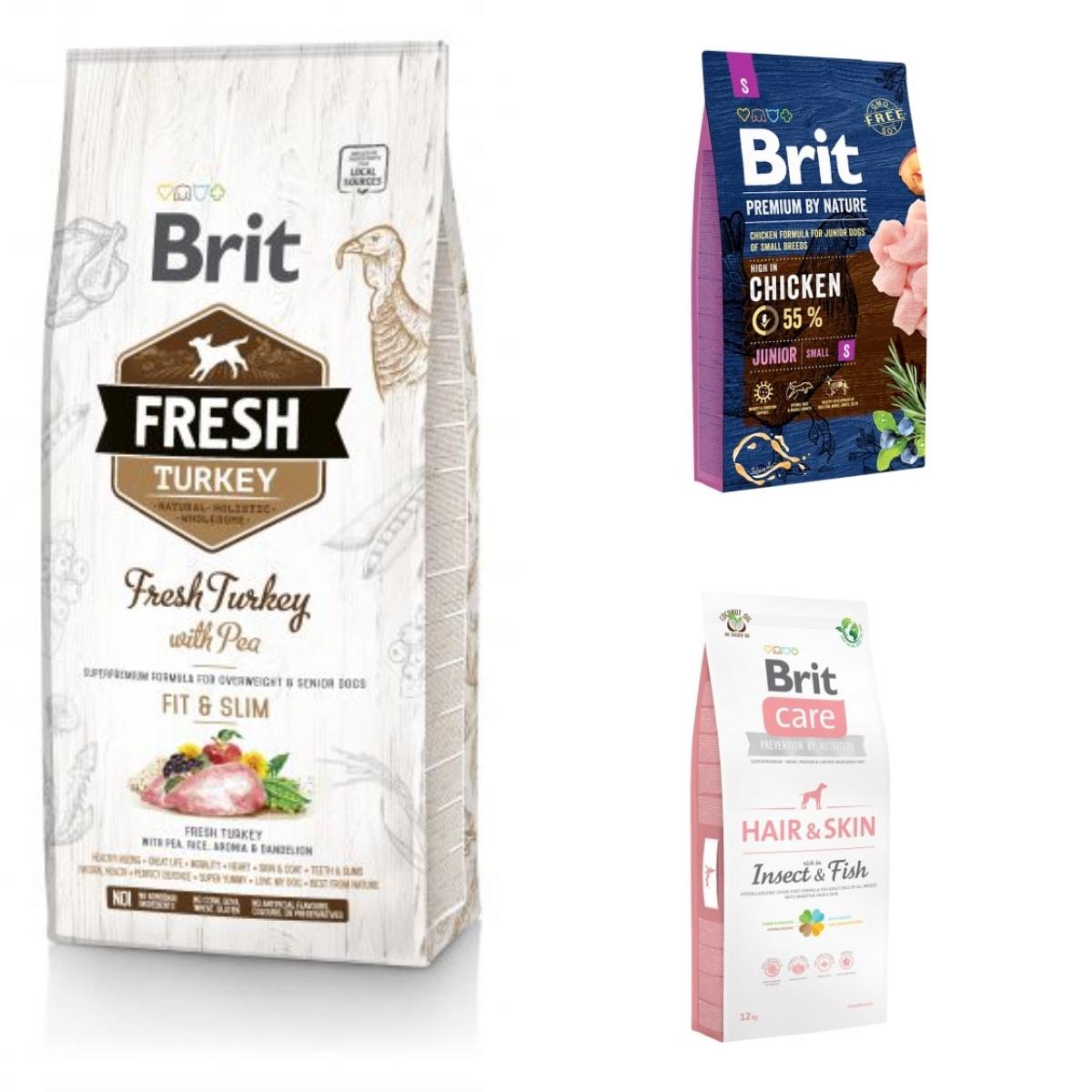 Brit karmy suche dla psów