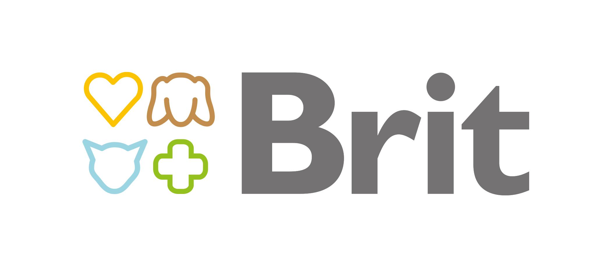 logo karma dla psa brit