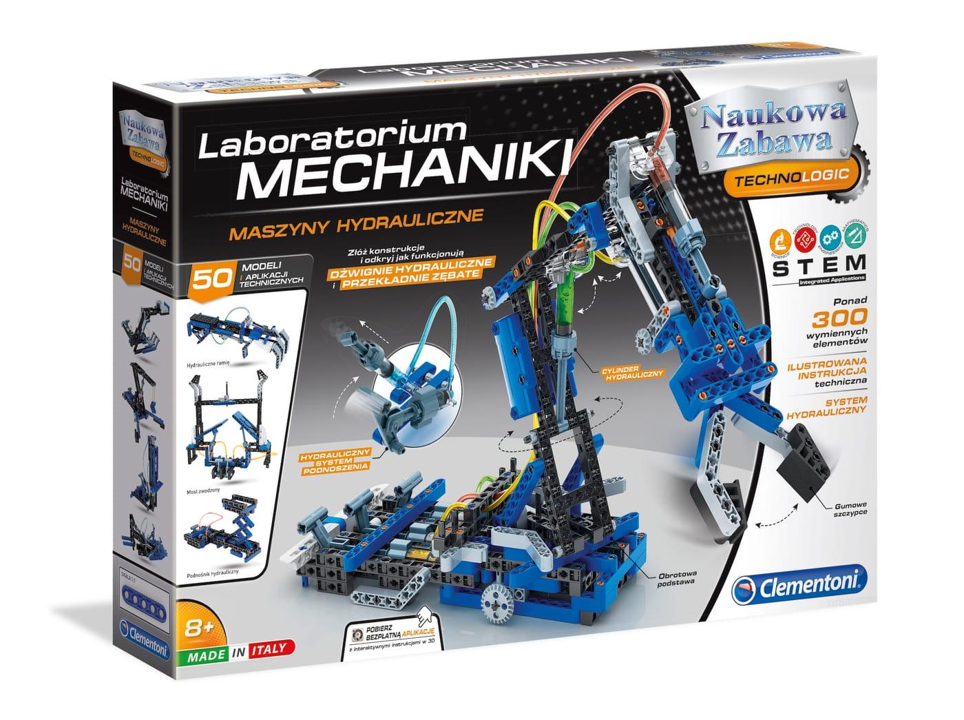 Zabawka dla dzieci do składania samodzielnego z Laboratorium mechaniki
