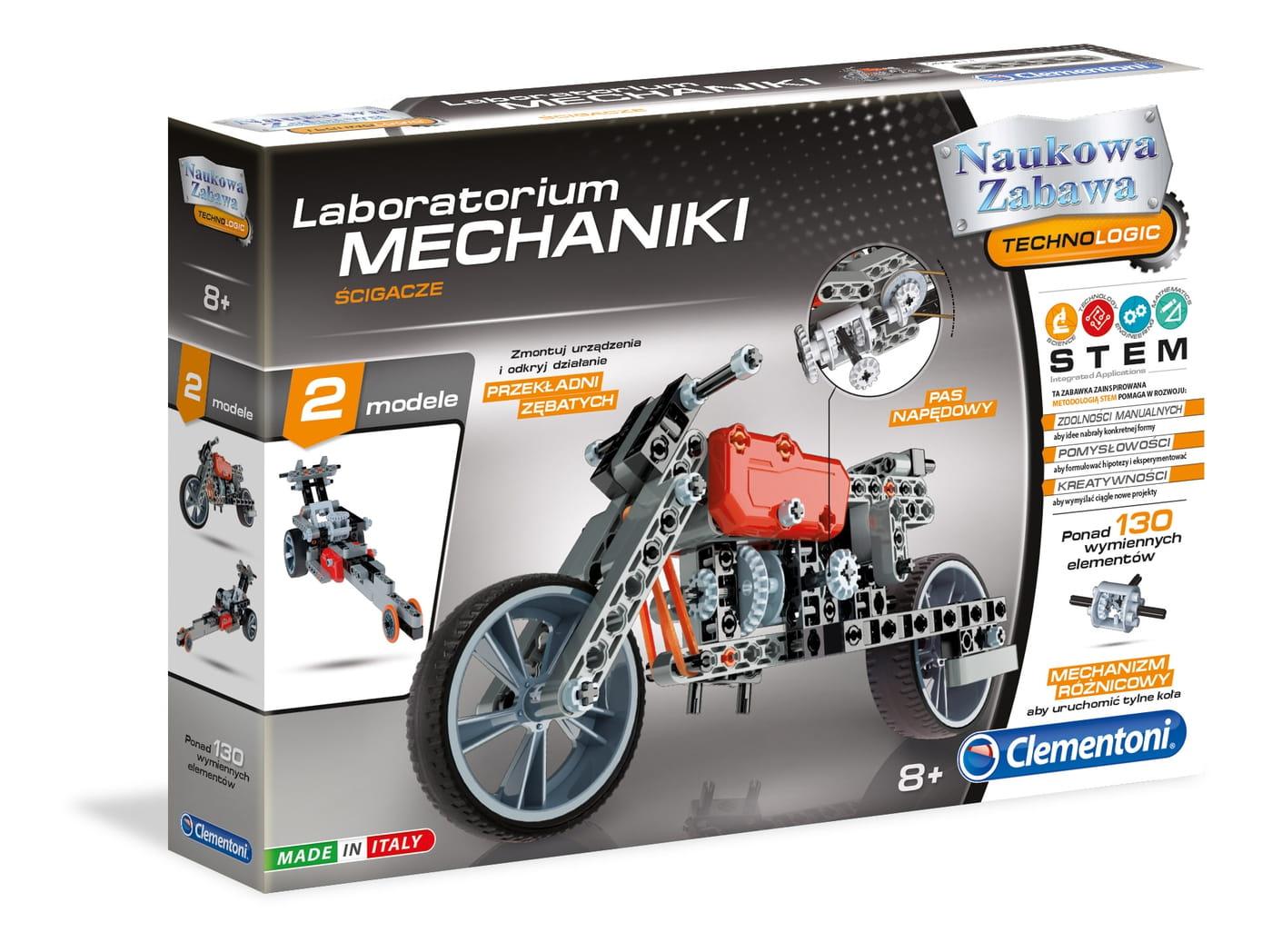 Motor konstrukcja dla dzieci powyżej 8 roku życia