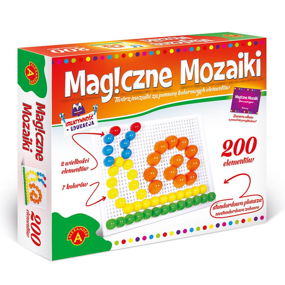 Kolorowa mozaika dla ciekawskich dzieci