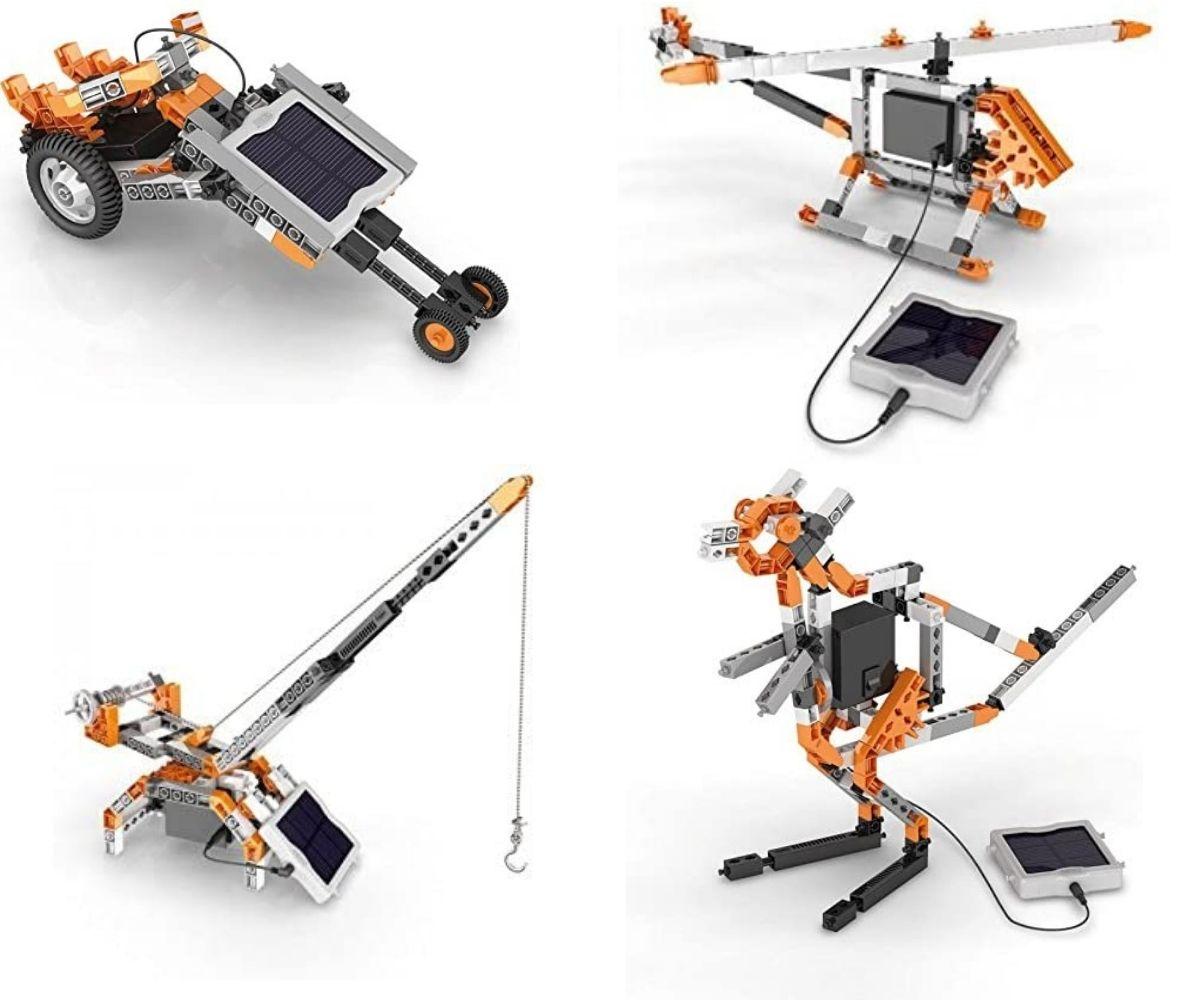 Zabawka kreatywna na baterie słoneczną