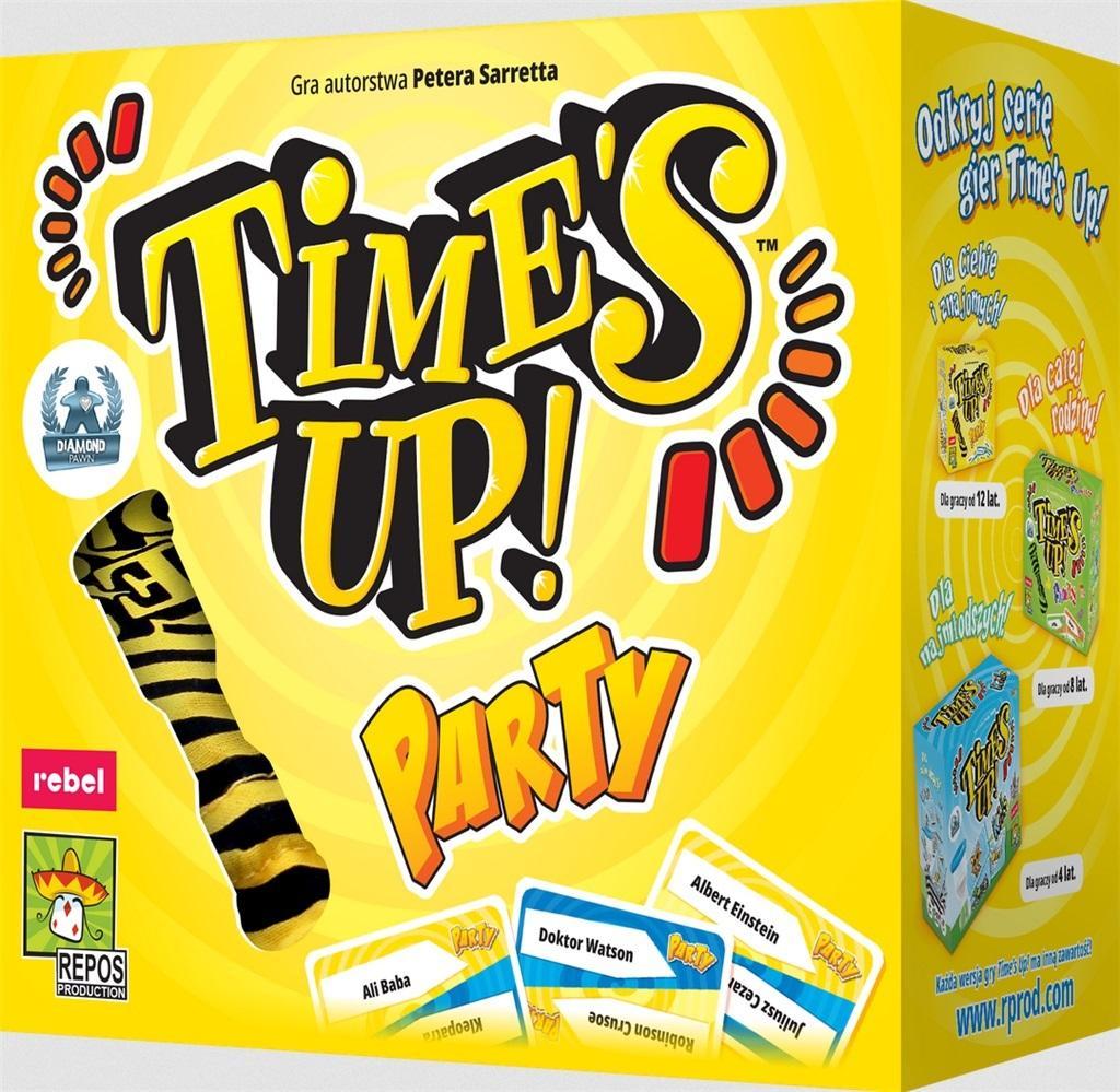 Gra Koniec czasu do szybkich zabaw w kalambury