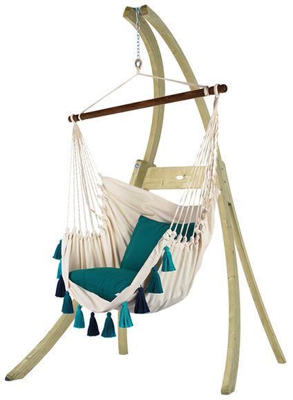 Krzesło brazylijskie z frędzlami