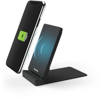 Ładowarka indukcyjna jako podstawka pod telefon na biurko