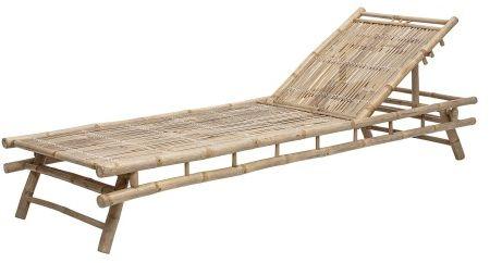 Leżak z bambusa