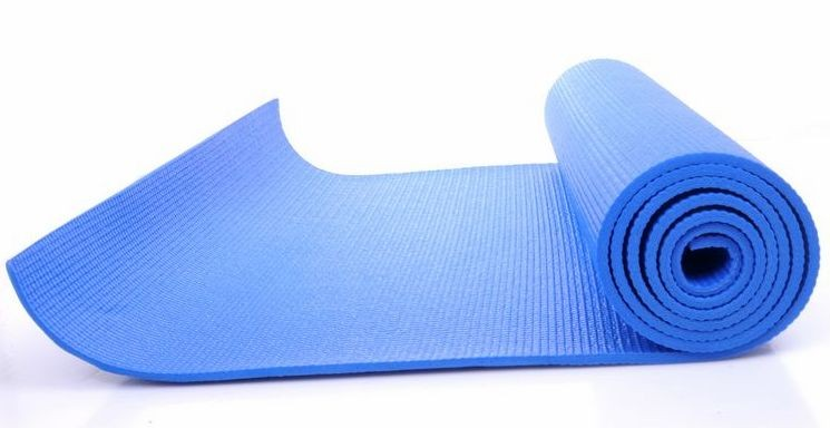 Niebieska mata do jogi