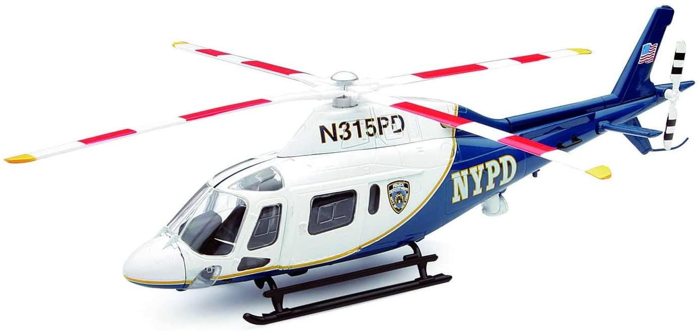 Helikopter zdalnie sterowany w barwach nowojorskiej policji
