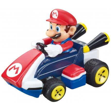 Zdalnie sterowany gokart z postacią Mario znaną z gier wideo