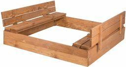 piaskownica zamykana drewniana