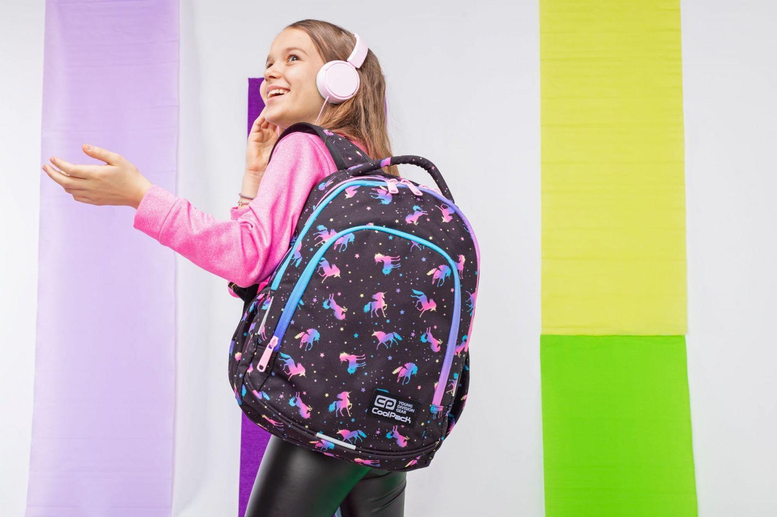 Plecak dla dziewczynki w jednorożce