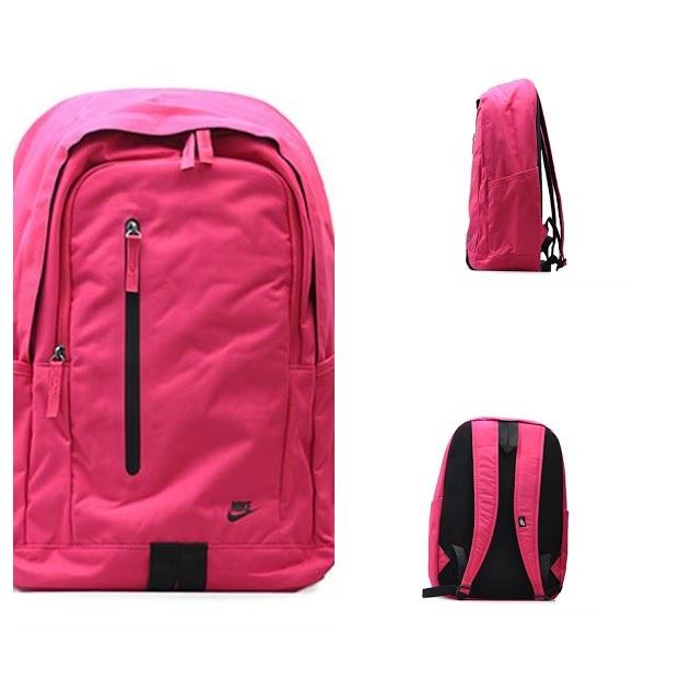rozowy mlodziezowy plecak nike 35l COLLAGE