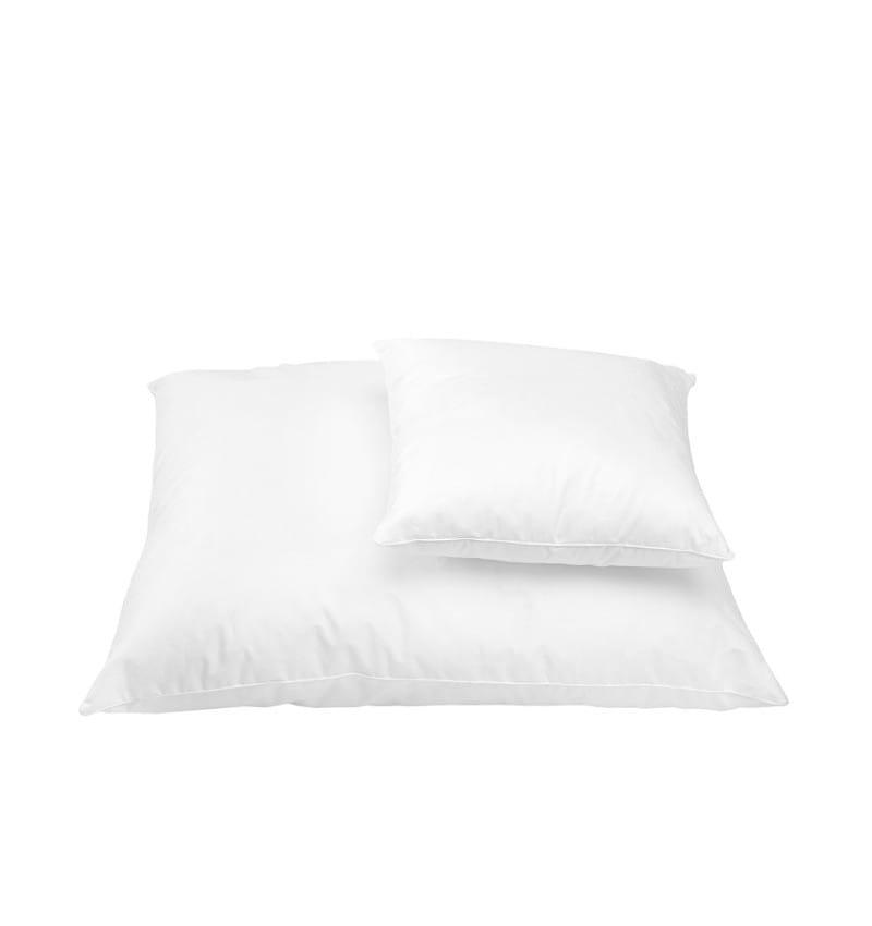 Białe antyalergiczne poduszki