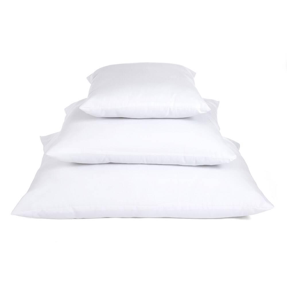 Trzy duże poduszki białe antyalergiczne