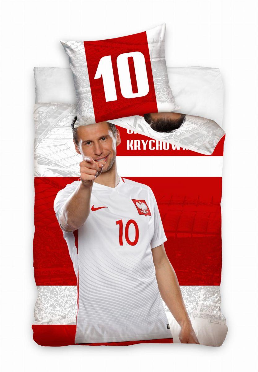 Pościel z piłkarzem Grzegorzem Krychowiakiem