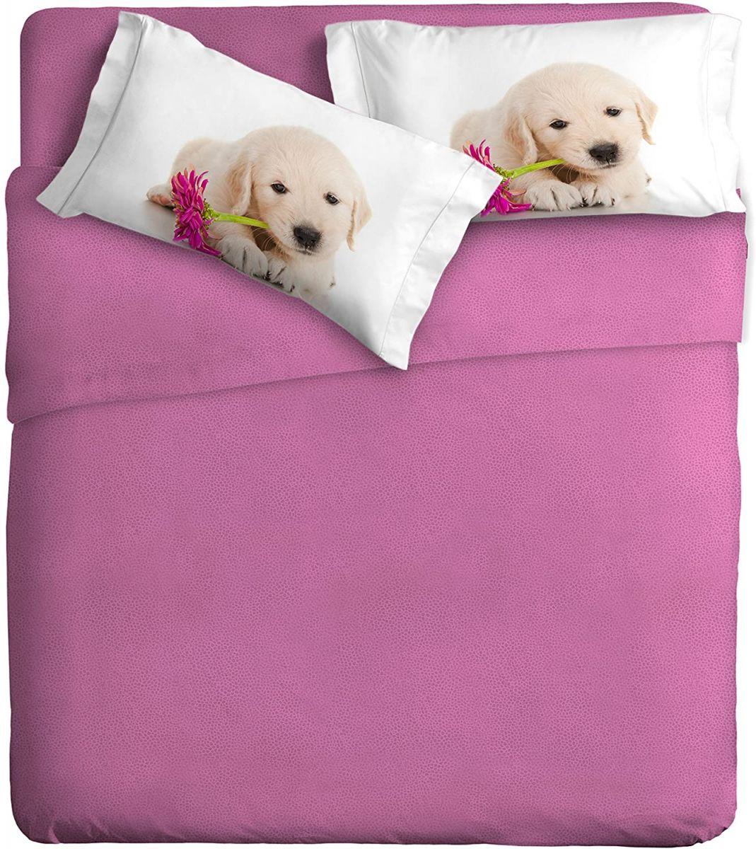 Pościel dla dorosłych w kolorze różowym