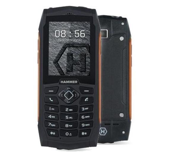 Telefon ze wzmocnioną obudowie i klawiaturą numeryczną