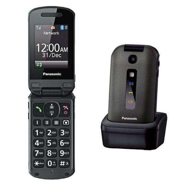 Telefon z klapka i stacją dokującą