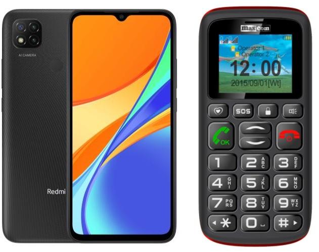 Smartfon i telefon klasyczny
