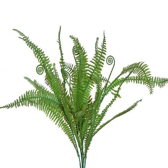 Liście paproci są idealnym dodatkiem do bukietów i kompozycji kwiatowych