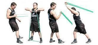 trening z guma oporowa