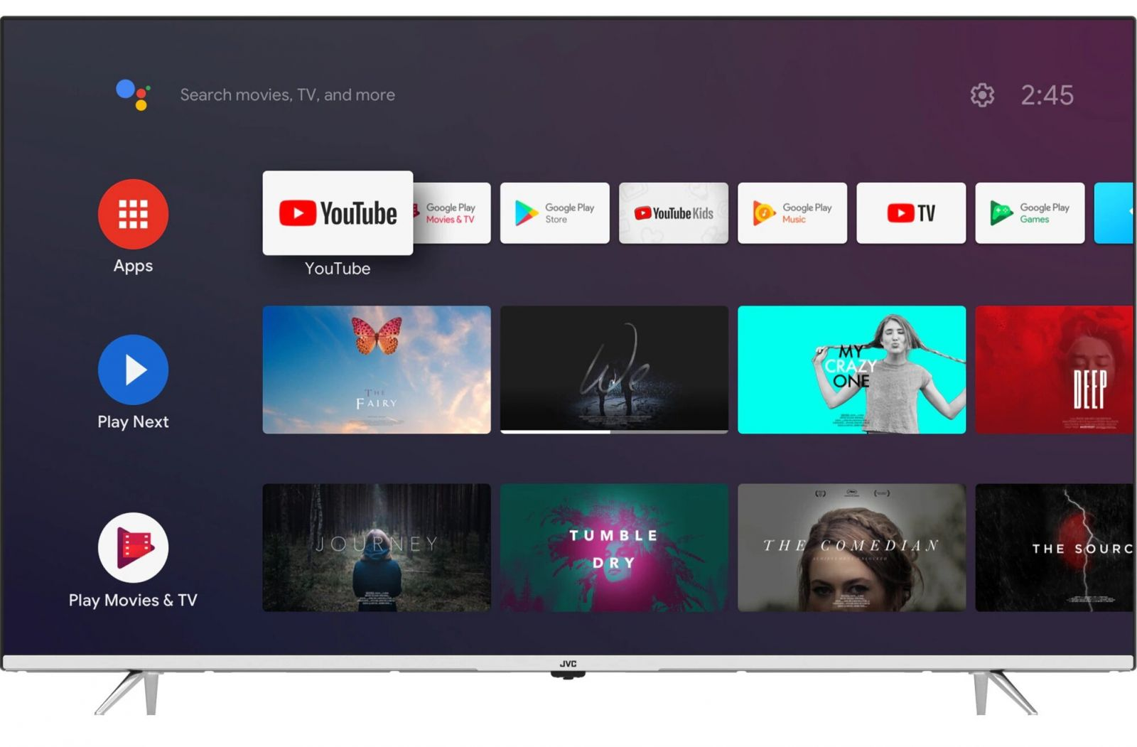 Telewizor z systemem Android TV