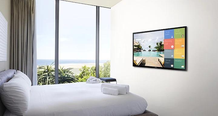 Telewizor Samsung w sypialni