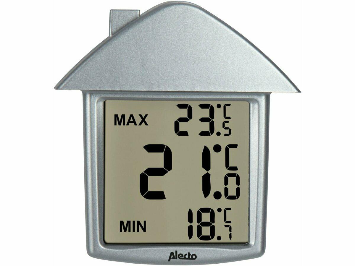 termometr zewnetrzny cyfrowy domek