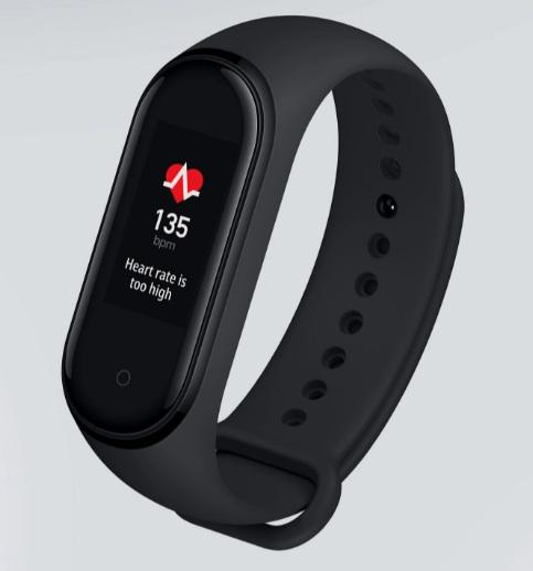 Xiaomi Mi Band 4 monitorowanie tętna