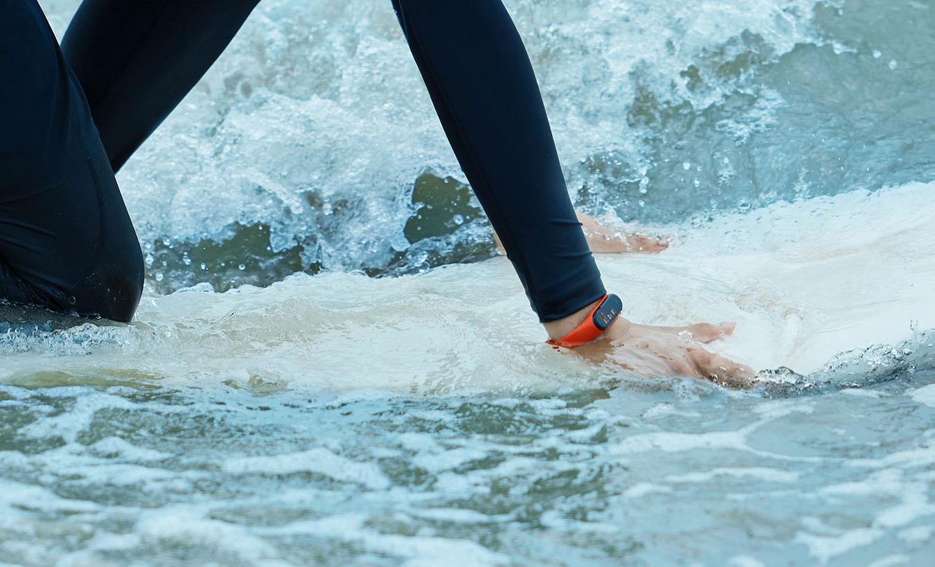 Xiaomi Mi Band 4 pływanie