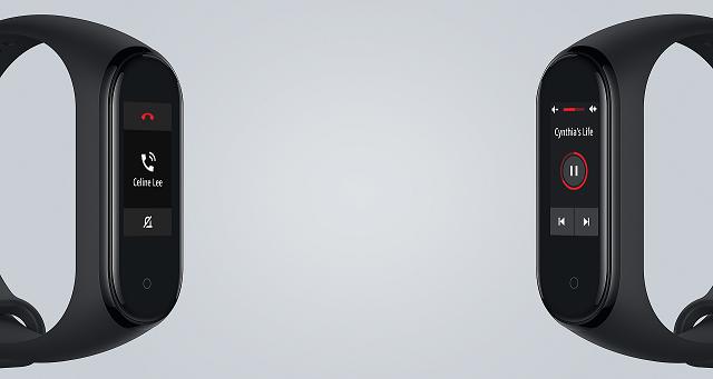 Xiaomi Mi Band 4 połączenia