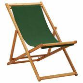 Fotel ogrodowy drewniany