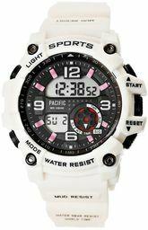 Beżowy zegarek