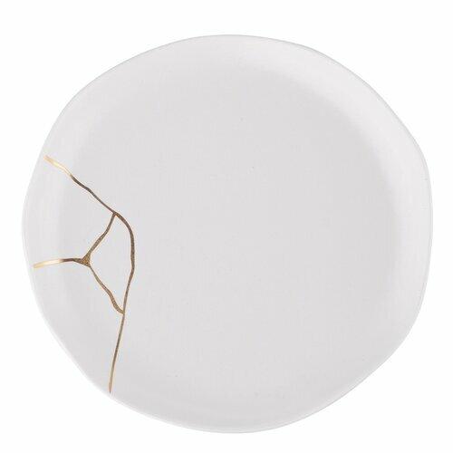 Biały talerzyk