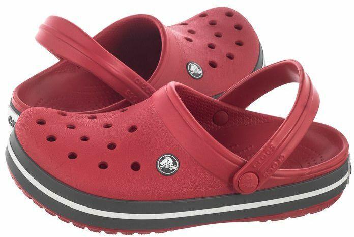 Czerwone crocsy
