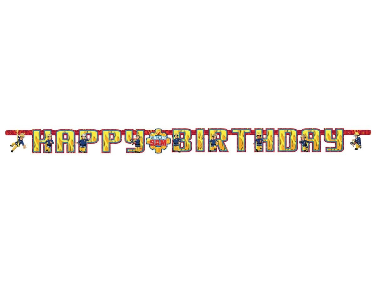 Dekoracje urodzinowe Strażak Sam