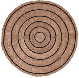 Dywan pleciony okrągły