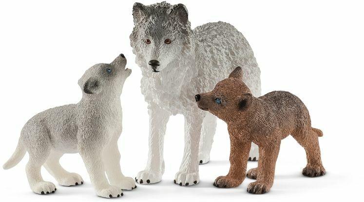 Figurki zwierząt leśnych