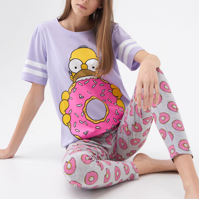 Fioletowa piżama