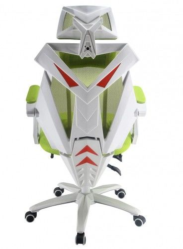 Fotel rozkładany zielony