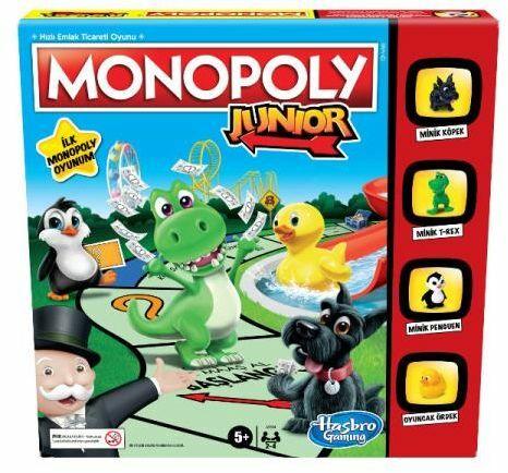 Gry Monopoly. Junior