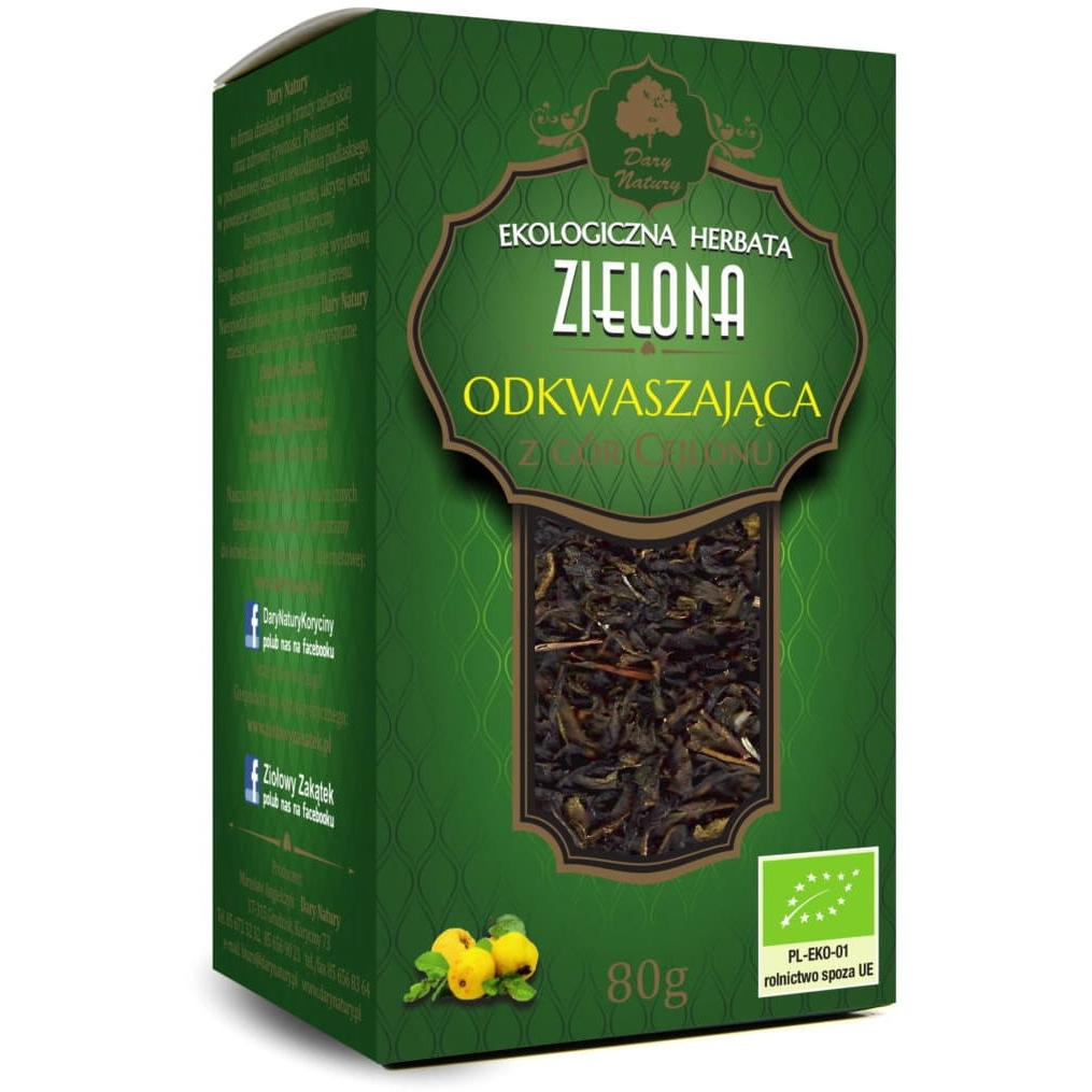 Herbata odkwaszająca