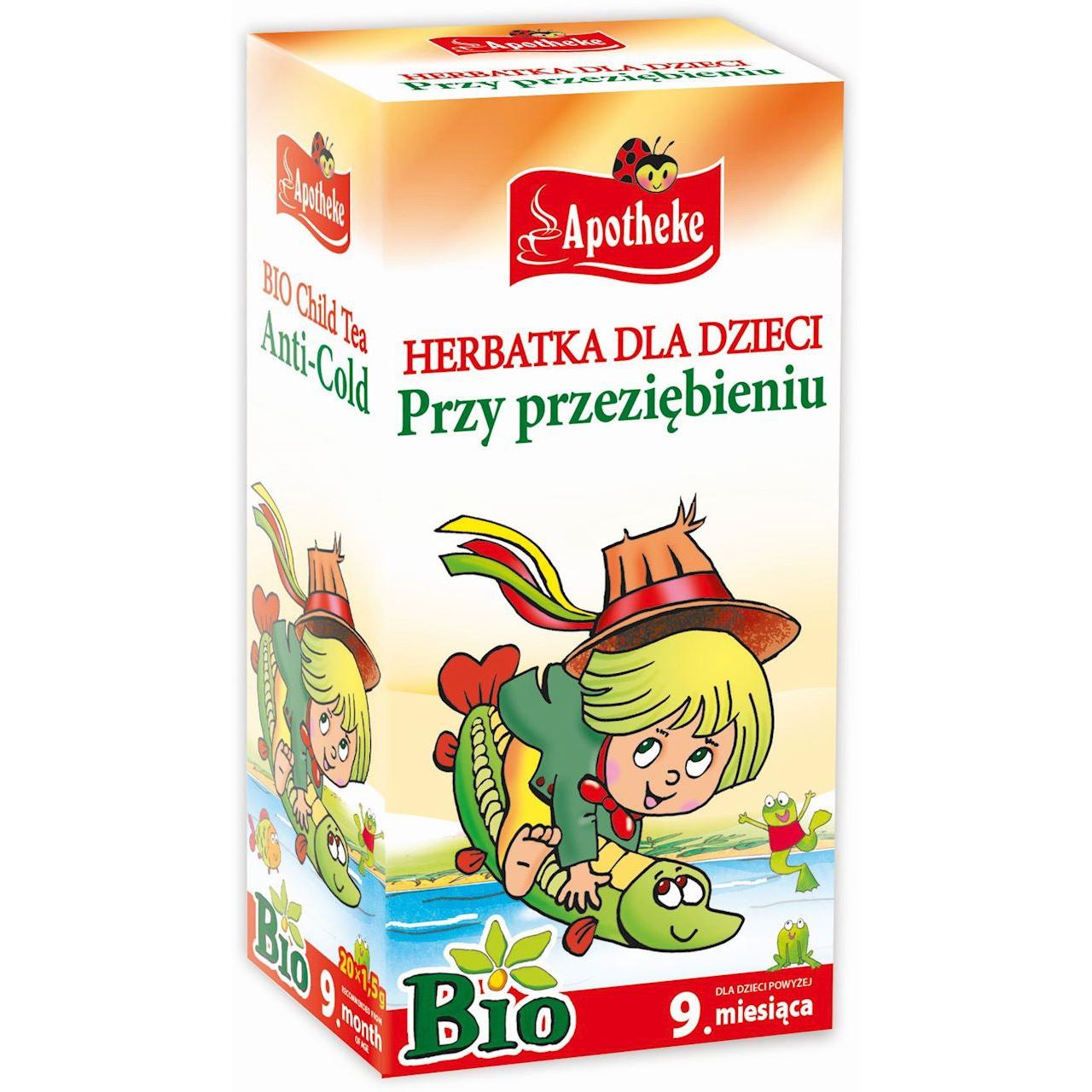 Herbatki na przeziębienie