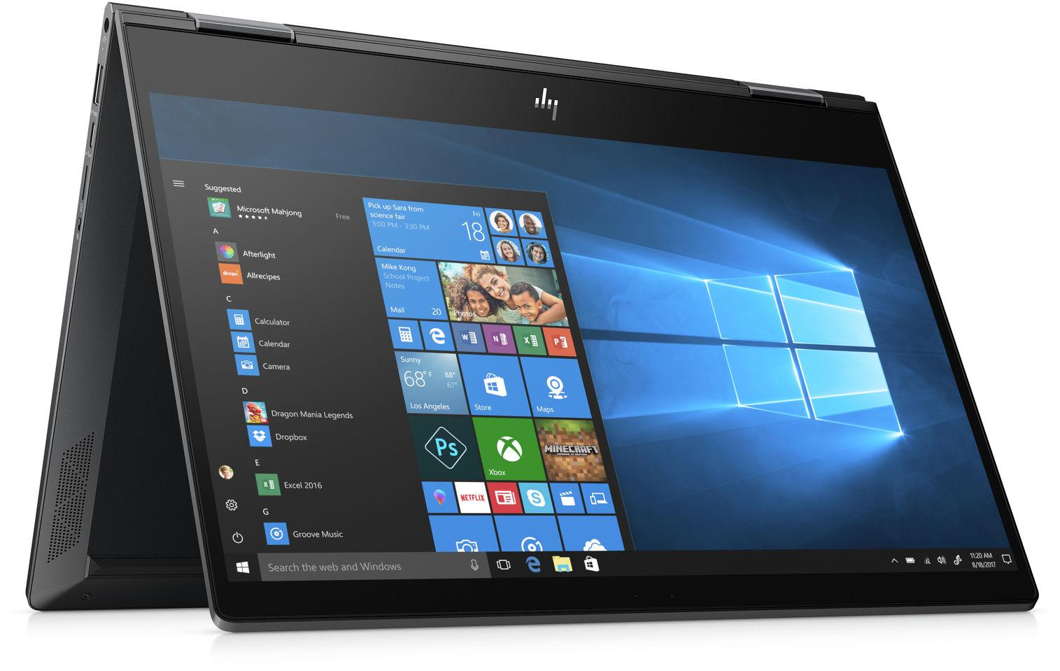 HP laptop dotykowy
