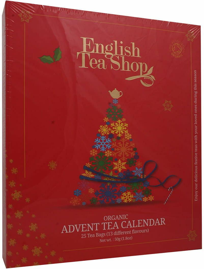 Kalendarz adwentowy z herbatami